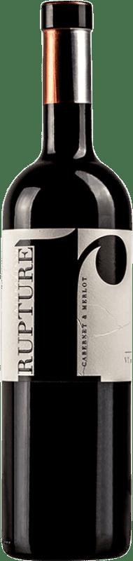 17,95 € Free Shipping | Red wine Valtravieso Rupture Crianza I.G.P. Vino de la Tierra de Castilla y León Castilla y León Spain Merlot, Cabernet Sauvignon Bottle 75 cl
