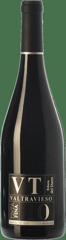 21,95 € Free Shipping | Red wine Valtravieso VT Tinta Fina D.O. Ribera del Duero Castilla y León Spain Tempranillo Bottle 75 cl