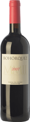 22,95 € Envoi gratuit | Vin rouge Bohórquez Reserva D.O. Ribera del Duero Castille et Leon Espagne Tempranillo, Merlot, Cabernet Sauvignon Bouteille 75 cl
