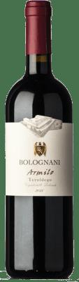 17,95 € Free Shipping | Red wine Bolognani Armìlo I.G.T. Vigneti delle Dolomiti Trentino Italy Teroldego Bottle 75 cl