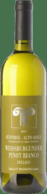 18,95 € Free Shipping | White wine Bolzano Pinot Bianco Dellago D.O.C. Alto Adige Trentino-Alto Adige Italy Pinot White Bottle 75 cl