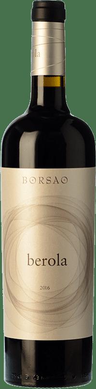 13,95 € Envío gratis | Vino tinto Borsao Berola Crianza D.O. Campo de Borja Aragón España Syrah, Garnacha, Cabernet Sauvignon Botella 75 cl