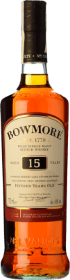 56,95 € Free Shipping | Whisky Single Malt Bowmore Darkest 15 Islay United Kingdom Bottle 70 cl