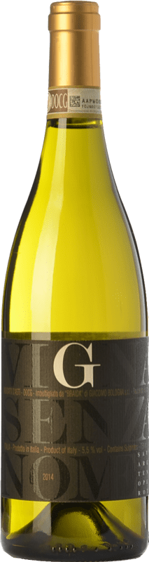12,95 € Free Shipping | Sweet wine Braida Vigna Senza Nome D.O.C.G. Moscato d'Asti Piemonte Italy Muscatel White Bottle 75 cl