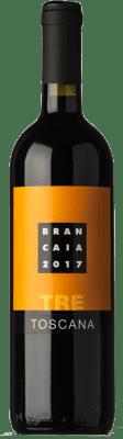 15,95 € Kostenloser Versand   Rotwein Brancaia Tre I.G.T. Toscana Toskana Italien Merlot, Cabernet Sauvignon, Sangiovese Flasche 75 cl