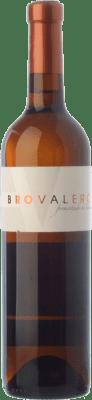 11,95 € Free Shipping | White wine Bro Valero Fermentado en Barrica Crianza D.O. La Mancha Castilla la Mancha Spain Macabeo, Chardonnay Bottle 75 cl