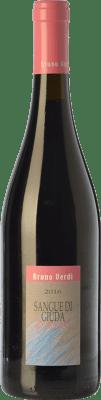 11,95 € Free Shipping | Sweet wine Bruno Verdi Sangue di Giuda Paradiso D.O.C. Oltrepò Pavese Lombardia Italy Barbera, Croatina, Rara Bottle 75 cl