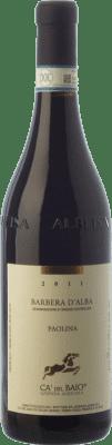 16,95 € Free Shipping | Red wine Cà del Baio Barbera d'Alba Paolina Crianza D.O.C. Piedmont Piemonte Italy Barbera Bottle 75 cl