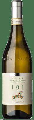 15,95 € Free Shipping | Sweet wine Cà del Baio Particella 101 D.O.C.G. Moscato d'Asti Piemonte Italy Muscatel White Bottle 75 cl