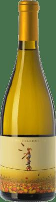 13,95 € Envío gratis | Vino blanco Ca N'Estruc L'Equilibrista Blanc Crianza D.O. Catalunya Cataluña España Xarel·lo Botella 75 cl