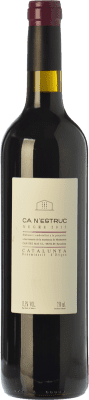 5,95 € Free Shipping | Red wine Ca N'Estruc Joven D.O. Catalunya Catalonia Spain Syrah, Cabernet Sauvignon Bottle 75 cl