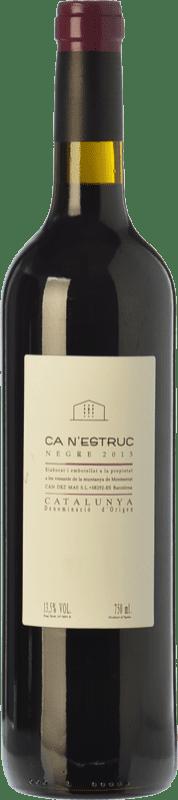 5,95 € Free Shipping | Red wine Ca N'Estruc Joven D.O. Catalunya Catalonia Spain Syrah, Cabernet Sauvignon Bottle 75 cl