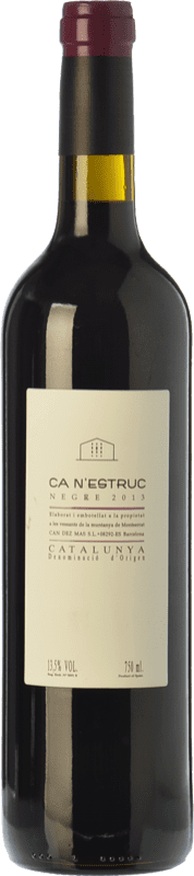 5,95 € Envío gratis | Vino tinto Ca N'Estruc Joven D.O. Catalunya Cataluña España Syrah, Cabernet Sauvignon Botella 75 cl