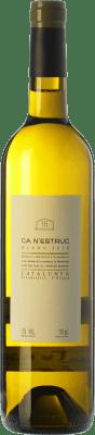 6,95 € Free Shipping | White wine Ca N'Estruc Joven D.O. Catalunya Catalonia Spain Macabeo, Xarel·lo, Chardonnay, Muscatel Small Grain Bottle 75 cl