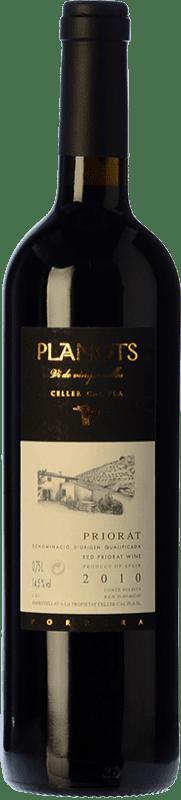 57,95 € Free Shipping | Red wine Cal Pla Planots Crianza D.O.Ca. Priorat Catalonia Spain Grenache, Carignan Bottle 75 cl