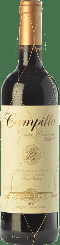29,95 € Free Shipping | Red wine Campillo Gran Reserva D.O.Ca. Rioja The Rioja Spain Tempranillo, Graciano Bottle 75 cl