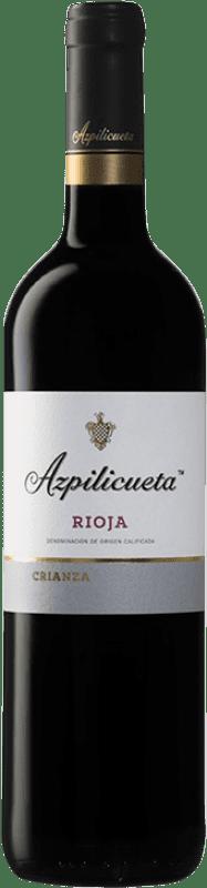 9,95 € Free Shipping | Red wine Campo Viejo Azpilicueta Crianza D.O.Ca. Rioja The Rioja Spain Tempranillo, Graciano, Mazuelo Bottle 75 cl