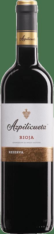 15,95 € Free Shipping | Red wine Campo Viejo Azpilicueta Reserva D.O.Ca. Rioja The Rioja Spain Tempranillo, Graciano, Mazuelo Bottle 75 cl