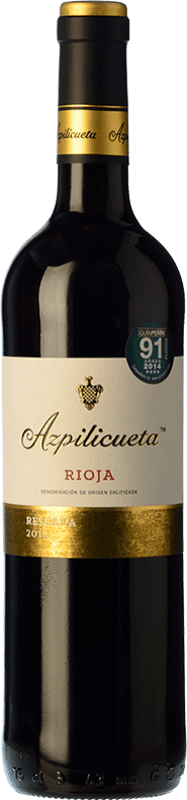 15,95 € Envoi gratuit | Vin rouge Campo Viejo Azpilicueta Reserva D.O.Ca. Rioja La Rioja Espagne Tempranillo, Graciano, Mazuelo Bouteille 75 cl