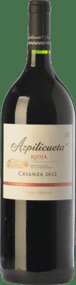 22,95 € Free Shipping | Red wine Campo Viejo Azpilicueta Crianza D.O.Ca. Rioja The Rioja Spain Tempranillo, Graciano, Mazuelo Magnum Bottle 1,5 L