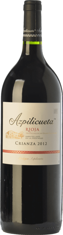 11,95 € Free Shipping | Red wine Campo Viejo Azpilicueta Crianza D.O.Ca. Rioja The Rioja Spain Tempranillo, Graciano, Mazuelo Magnum Bottle 1,5 L
