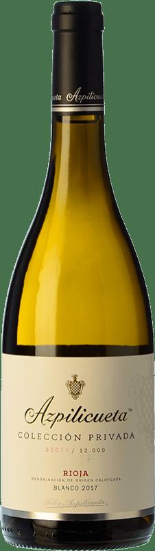 19,95 € Free Shipping | White wine Campo Viejo Félix Azpilicueta Colección Privada Crianza D.O.Ca. Rioja The Rioja Spain Viura Bottle 75 cl