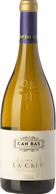 33,95 € Free Shipping | White wine Can Bas La Creu Crianza D.O. Penedès Catalonia Spain Sauvignon White Bottle 75 cl