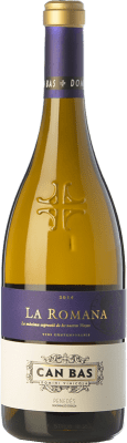 52,95 € Free Shipping | White wine Can Bas La Romana Crianza D.O. Penedès Catalonia Spain Xarel·lo, Chardonnay Bottle 75 cl