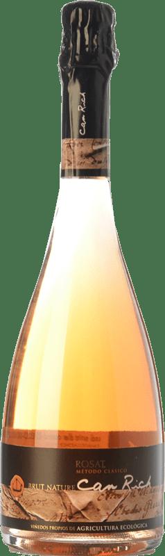 11,95 € Envoi gratuit | Rosé moussant Can Rich Extra Brut I.G.P. Vi de la Terra de Ibiza Îles Baléares Espagne Syrah Bouteille 75 cl
