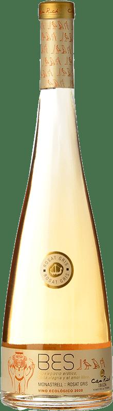 11,95 € Free Shipping | Rosé wine Can Rich Bes I.G.P. Vi de la Terra de Ibiza Balearic Islands Spain Monastrell Bottle 75 cl