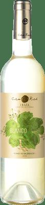 12,95 € Free Shipping | White wine Can Rich I.G.P. Vi de la Terra de Ibiza Balearic Islands Spain Malvasía, Chardonnay Bottle 75 cl