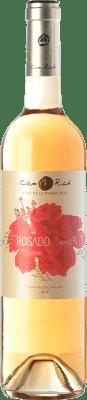 7,95 € Free Shipping | Rosé wine Can Rich I.G.P. Vi de la Terra de Ibiza Balearic Islands Spain Tempranillo, Merlot Bottle 75 cl