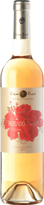 7,95 € Envoi gratuit | Vin rose Can Rich I.G.P. Vi de la Terra de Ibiza Îles Baléares Espagne Tempranillo, Merlot Bouteille 75 cl