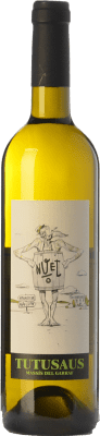 8,95 € Free Shipping | White wine Can Tutusaus Nuet Blanc D.O. Penedès Catalonia Spain Viognier, Xarel·lo Bottle 75 cl