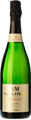9,95 € Free Shipping | White sparkling Canals & Munné Insuperable Brut Reserva D.O. Cava Catalonia Spain Macabeo, Xarel·lo, Parellada Bottle 75 cl | Thousands of wine lovers trust us to get the best price guarantee, free shipping always and hassle-free shopping and returns.