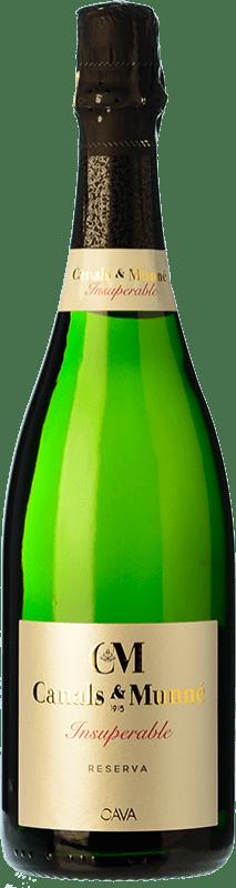 11,95 € Free Shipping | White sparkling Canals & Munné Insuperable Brut Reserva D.O. Cava Catalonia Spain Macabeo, Xarel·lo, Parellada Bottle 75 cl