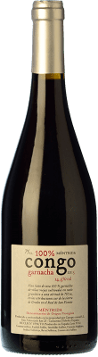 46,95 € Free Shipping | Red wine Canopy Congo Crianza 2009 D.O. Méntrida Castilla la Mancha Spain Grenache Bottle 75 cl