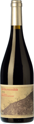 37,95 € Free Shipping | Red wine Canopy La Viña Escondida Crianza D.O. Méntrida Castilla la Mancha Spain Grenache Bottle 75 cl