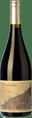 37,95 € Envío gratis | Vino tinto Canopy La Viña Escondida Crianza D.O. Méntrida Castilla la Mancha España Garnacha Botella 75 cl