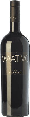 24,95 € Free Shipping | Red wine Cantele Amativo I.G.T. Salento Campania Italy Primitivo, Negroamaro Bottle 75 cl