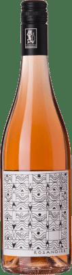 14,95 € Free Shipping | Rosé wine Cantrina Rosanoire D.O.C. Garda Lombardia Italy Pinot Black Bottle 75 cl