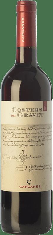 12,95 € Free Shipping | Red wine Capçanes Costers del Gravet Crianza D.O. Montsant Catalonia Spain Grenache, Cabernet Sauvignon, Carignan Bottle 75 cl