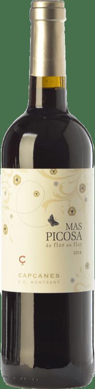 7,95 € Free Shipping | Red wine Capçanes Mas Picosa de Flor en Flor Joven D.O. Montsant Catalonia Spain Tempranillo, Merlot, Grenache, Samsó Bottle 75 cl