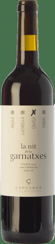 13,95 € Free Shipping | Red wine Capçanes Nit de les Garnatxes Calissa Joven D.O. Montsant Catalonia Spain Grenache Bottle 75 cl
