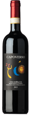 24,95 € Free Shipping | Red wine Capoverso D.O.C.G. Vino Nobile di Montepulciano Tuscany Italy Merlot, Sangiovese Bottle 75 cl