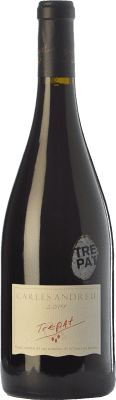 12,95 € Free Shipping | Red wine Carles Andreu Joven D.O. Conca de Barberà Catalonia Spain Trepat Bottle 75 cl