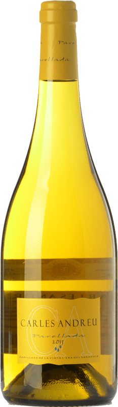 9,95 € Free Shipping | White wine Carles Andreu D.O. Conca de Barberà Catalonia Spain Parellada Bottle 75 cl