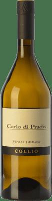 19,95 € Free Shipping | White wine Carlo di Pradis Pinot Grigio D.O.C. Collio Goriziano-Collio Friuli-Venezia Giulia Italy Pinot Grey Bottle 75 cl