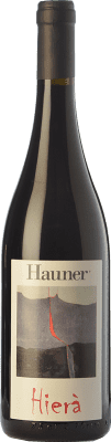 17,95 € Free Shipping | Red wine Hauner Hierà I.G.T. Salina Sicily Italy Grenache, Nocera, Calabrese Bottle 75 cl