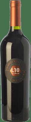 22,95 € Free Shipping | Red wine Casa Bianchi L10 Premium Crianza I.G. Mendoza Mendoza Argentina Malbec Bottle 75 cl